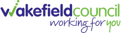 Wakefield council logo.