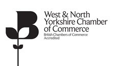 West & North Yorkshire Chamber of Commerce logo.
