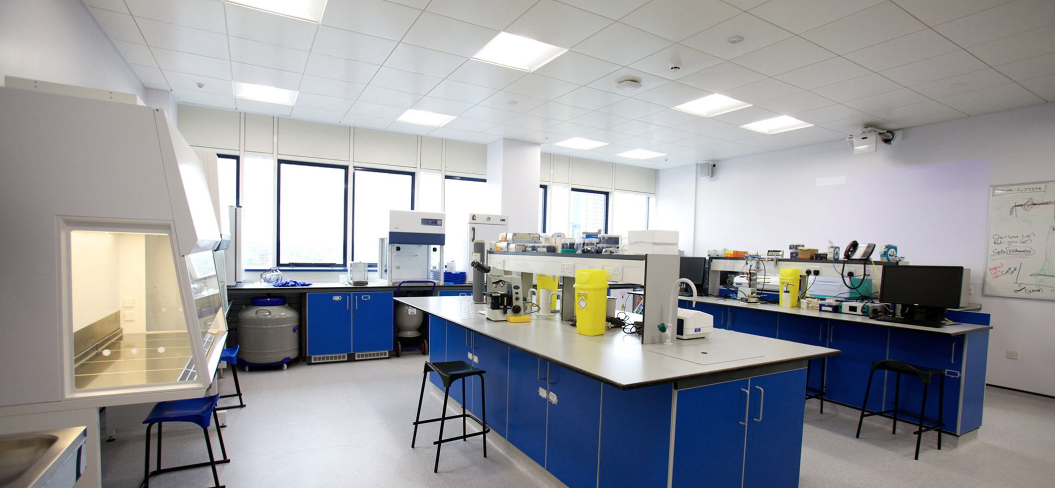 Biomedical sciences lab