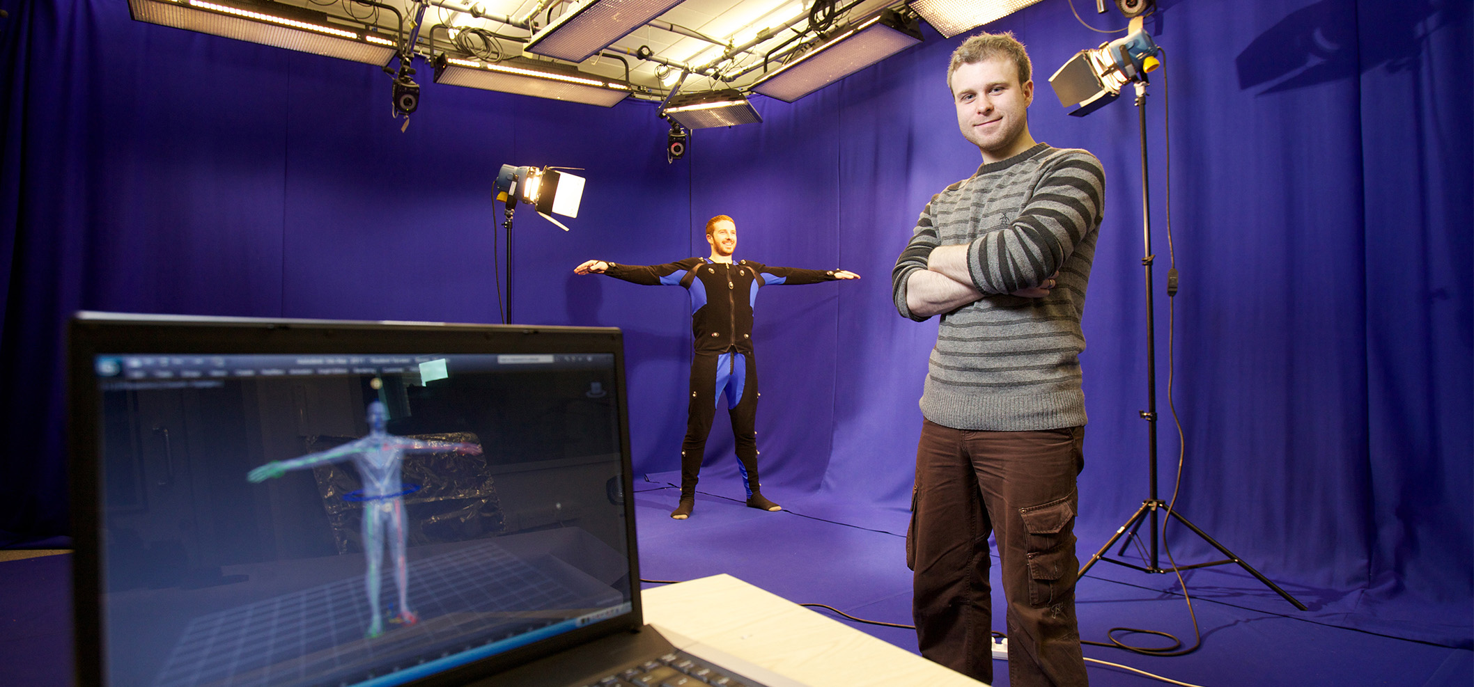 Motion capture suite