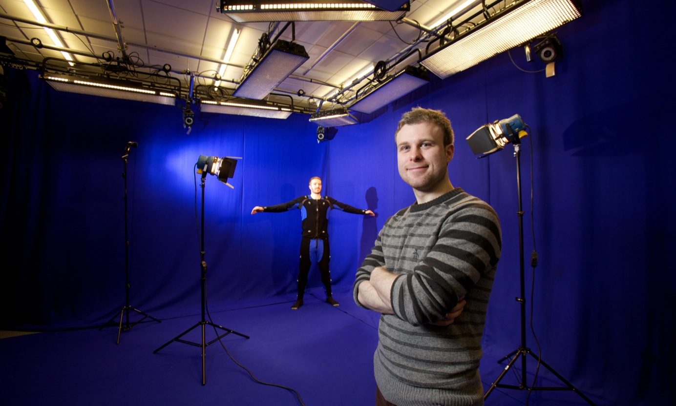 Motion capture equipment
