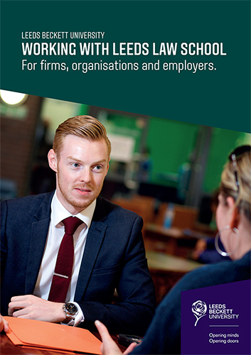 Leeds Law School Brochure
