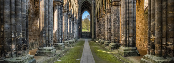 Kirkstall Abbey Old Ruins