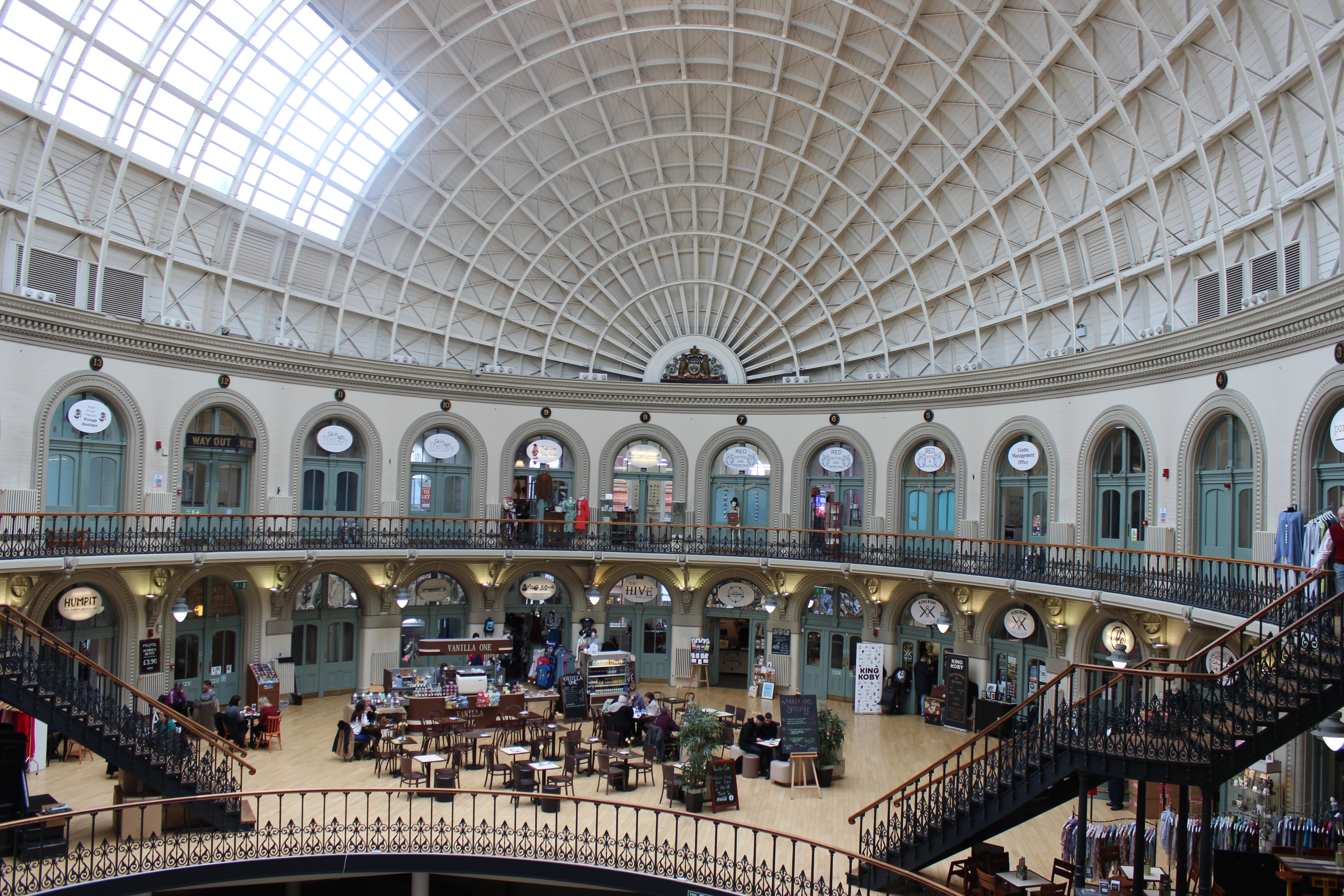 Student Natalie's image of the Corn Exchange