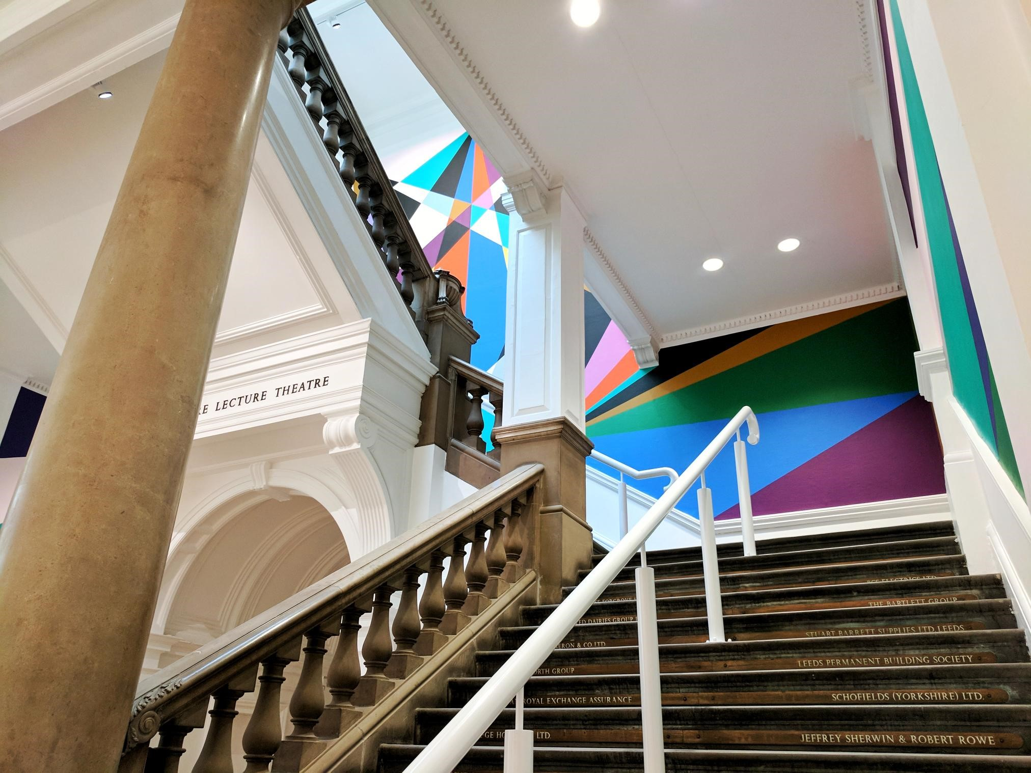 Student Annika's image from inside Leeds Art Gallery