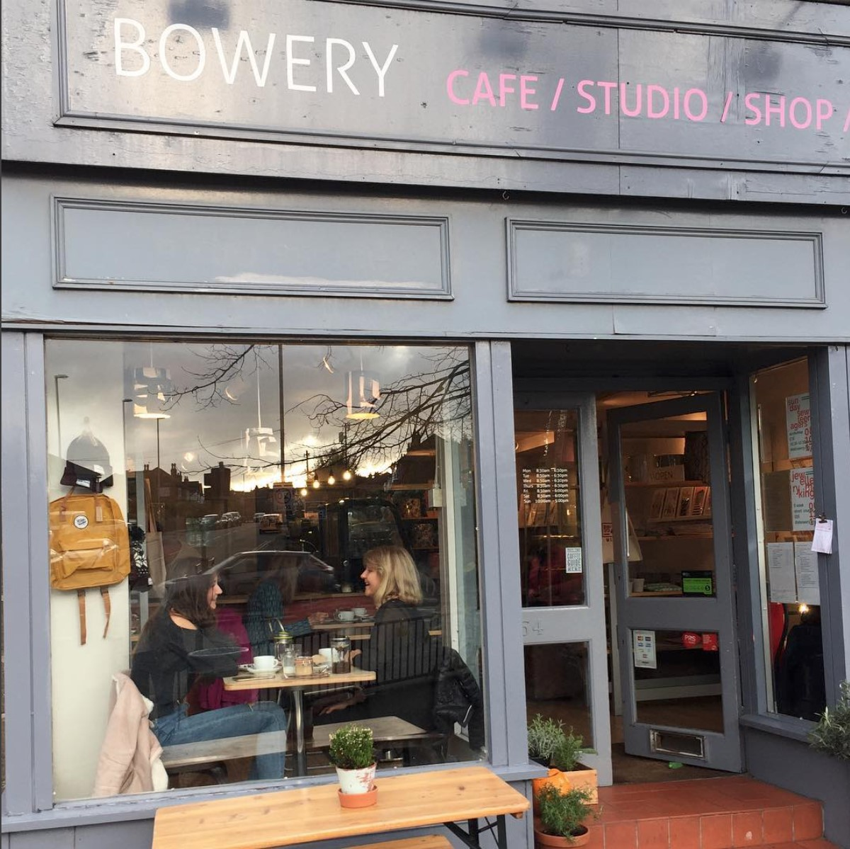 Student Georgie's image of The Bowery