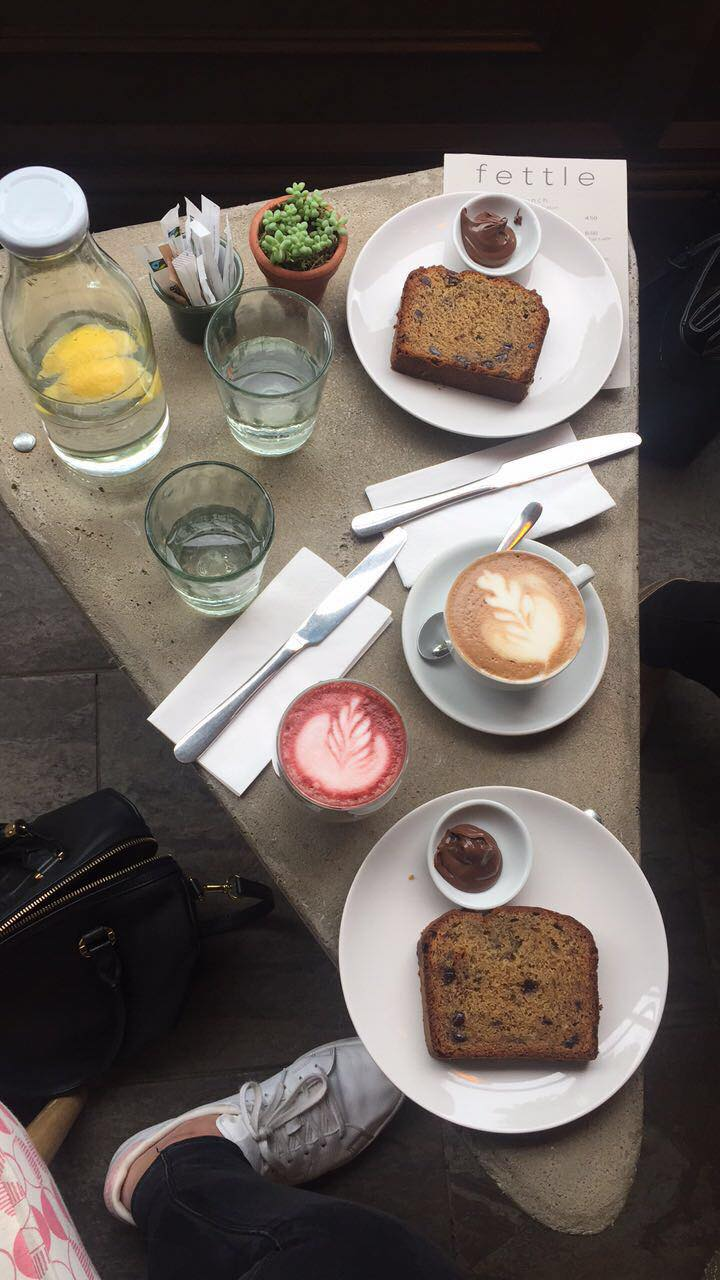 Student Millie -image of breakfast at Fettle Cafe