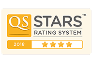 QS STARS rating system - Four stars