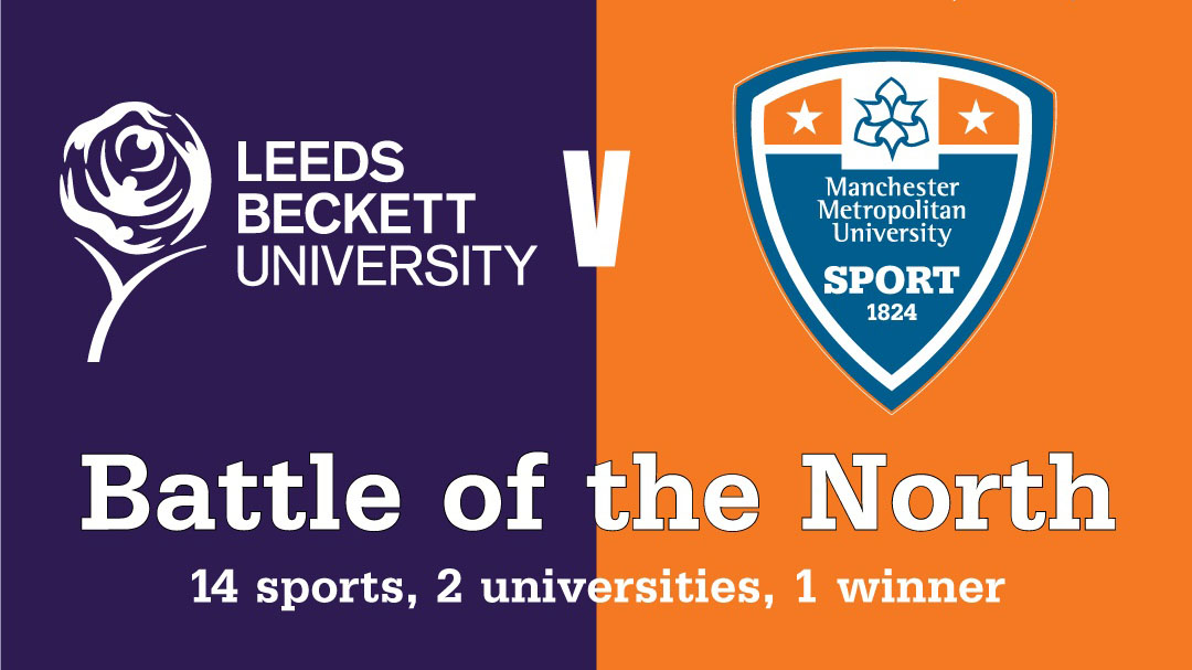 Leeds Beckett sports teams prepare for Battle of the North