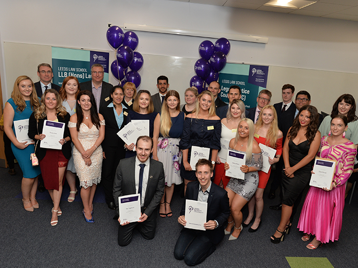 Graduation prizes awarded to celebrate law students' success