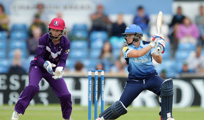 Students support Yorkshire Diamonds' bid for T20 success