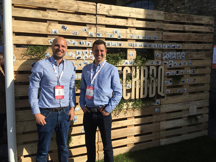 Candle Digital's Directors, Mark Langdale and Andy Jack, at Tech BBQ
