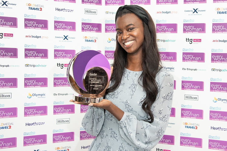 Graduate lands top prize at women in travel awards