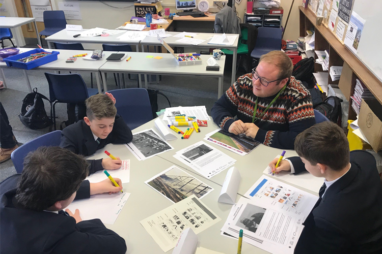 Pupils create graphic novels in tribute to Bradford City unsung heroes