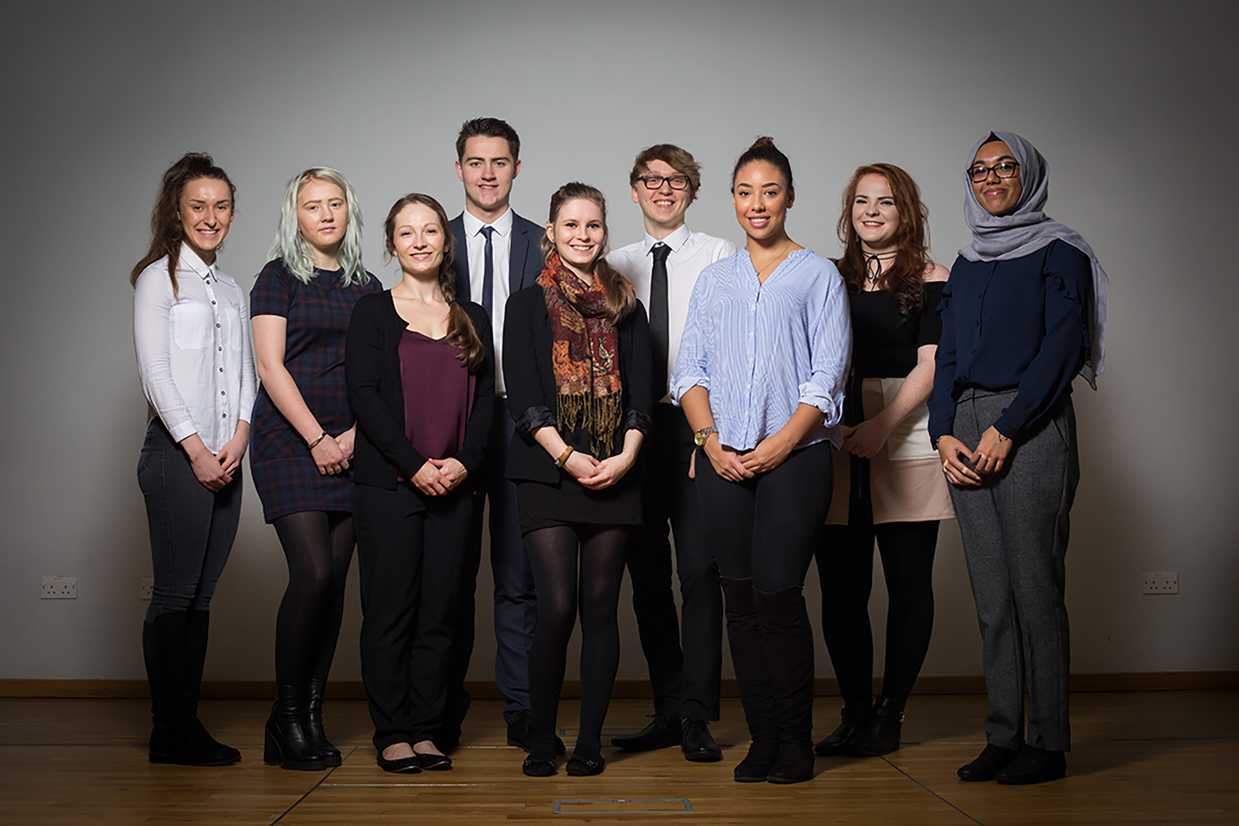 The future is bright for nine Leeds Beckett scholarship recipients