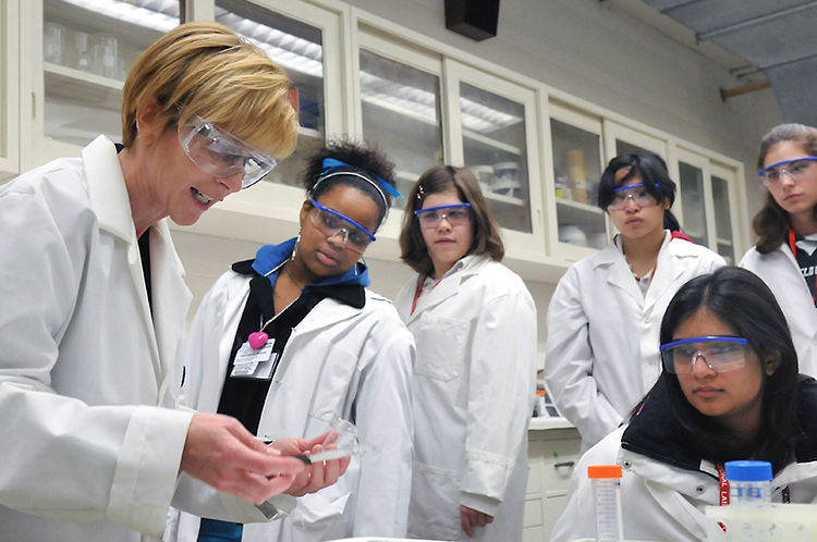 Girls and STEM research