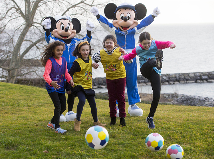 Sport research uses magic of Disney to encourage girls to play football