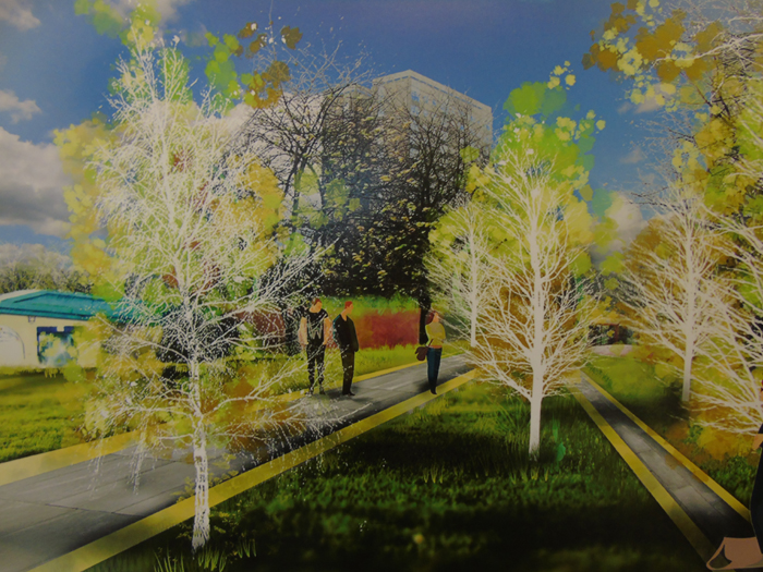 Yorkshire community landscapes transformed by Leeds Beckett students