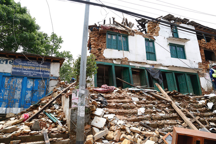 Researcher to help develop earthquake aftershock ...