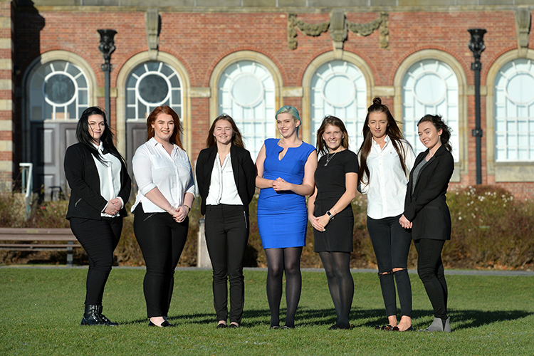 Future is bright for seven Leeds Beckett scholarship recipients