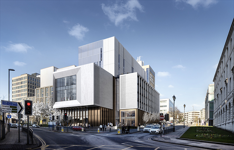 Work starts on £80m Creative Arts building