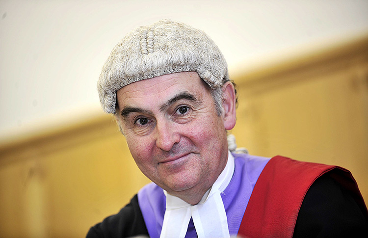 Mr Justice Goss copyright Telegraph and Argus
