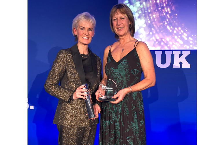 Sue Ringrose given national award for her work on innovative new jockey and rider training programmes