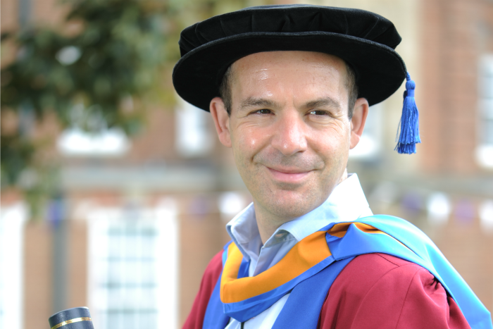 Money Saving Expert Martin Lewis receives honorary degree
