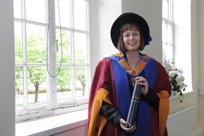 University's first female Vice Chancellor graduates amongst former students