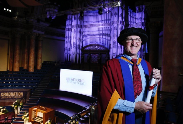 Frozen Planet sound recordist receives honorary degree