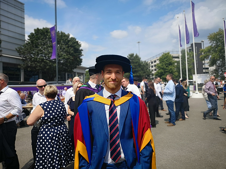 Mark becomes latest Doctor Cooke after graduating from Leeds Beckett