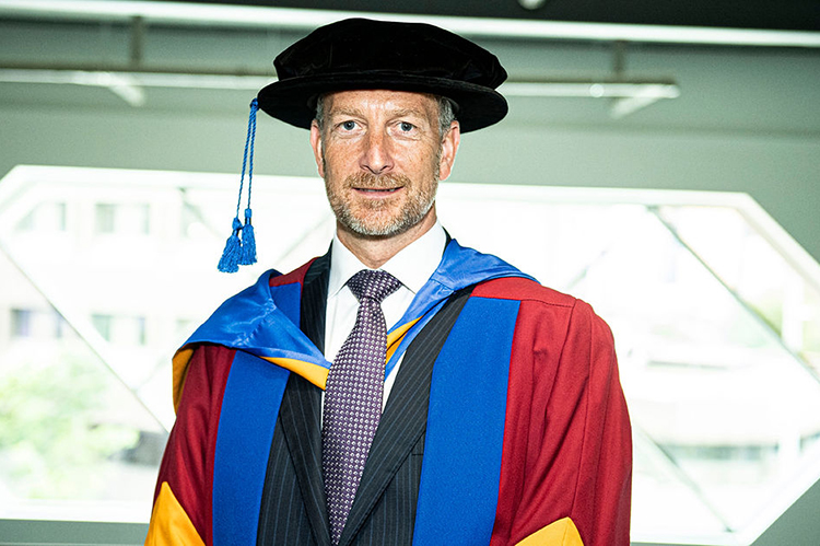 Arriva Chief Financial Officer awarded Leeds Beckett University Honorary Doctorate