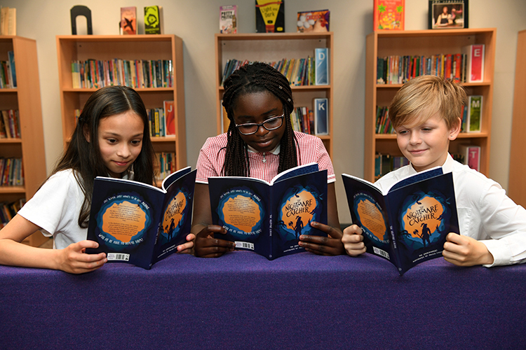 Book dreams become reality for school pupils