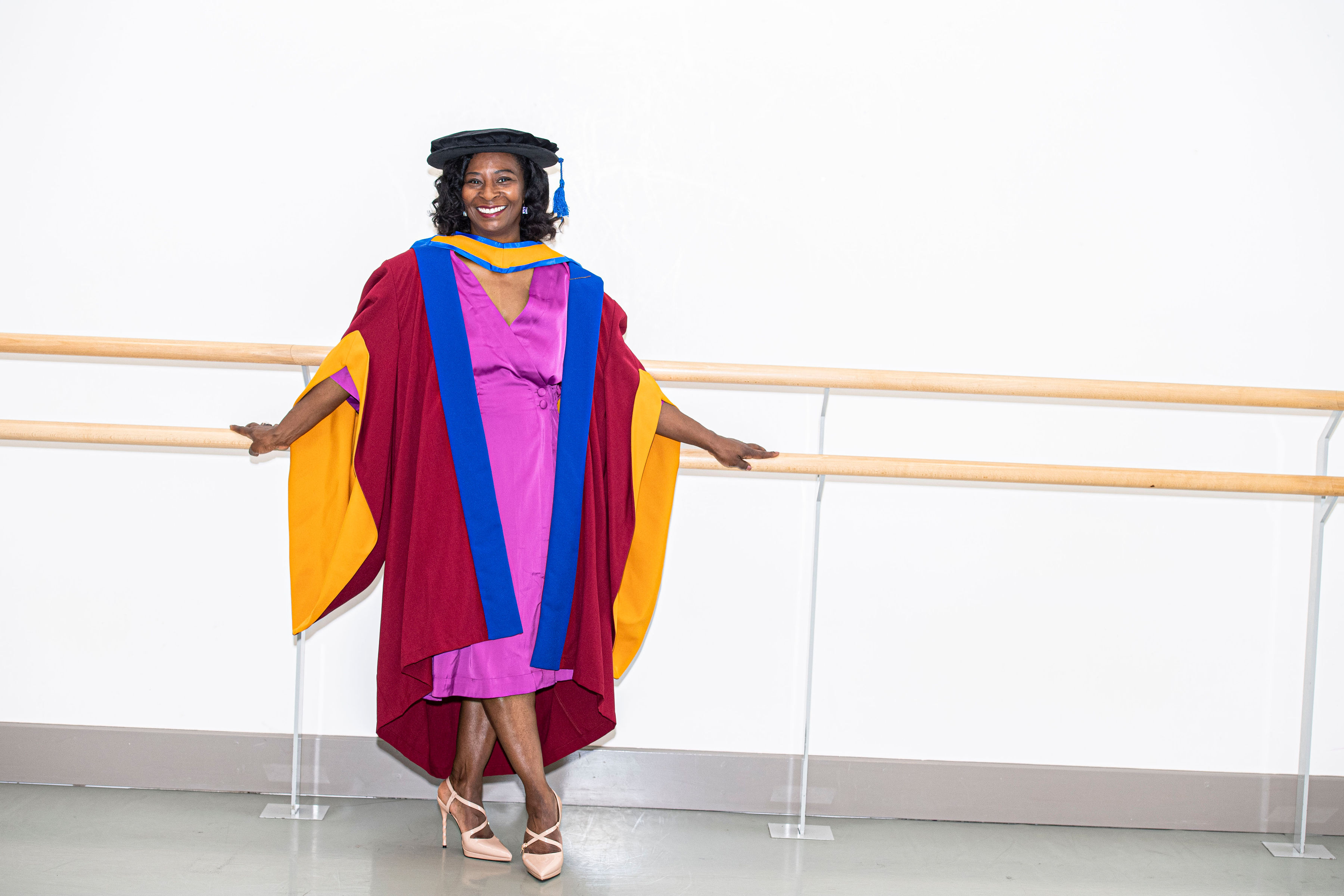 Artistic Director of Phoenix Dance Theatre awarded Honorary Doctorate