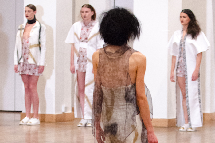 Leeds Beckett celebrate the first BA (Hons) Fashion  degree Show