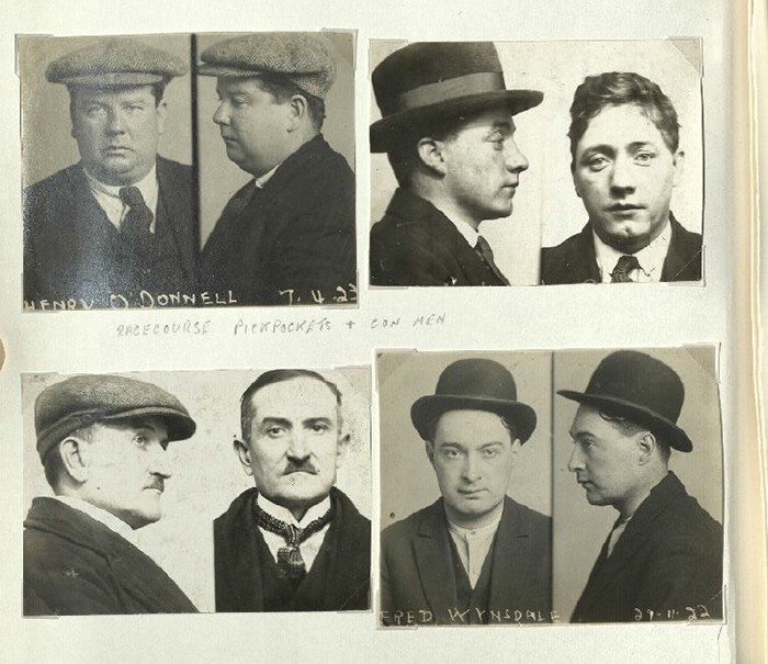 Mugshot photographs of Yorkshire criminals of yesteryear uncovered by heritage project