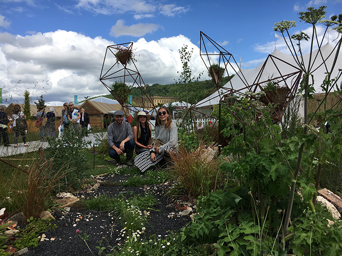 Landscape architecture students celebrate the unsung heroes of the plant kingdom with RHS Chatsworth Flower Show garden