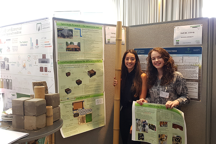 Civil Engineering students win design challenge