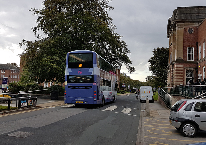 There S A New Bus Timetable For First Bus Leeds S 29 And