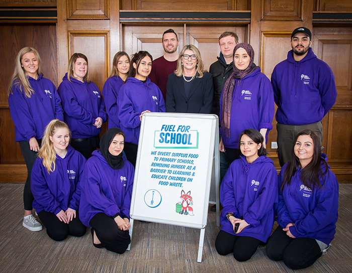 Leeds Beckett students team up with Fuel for School to bring healthy food into the classroom