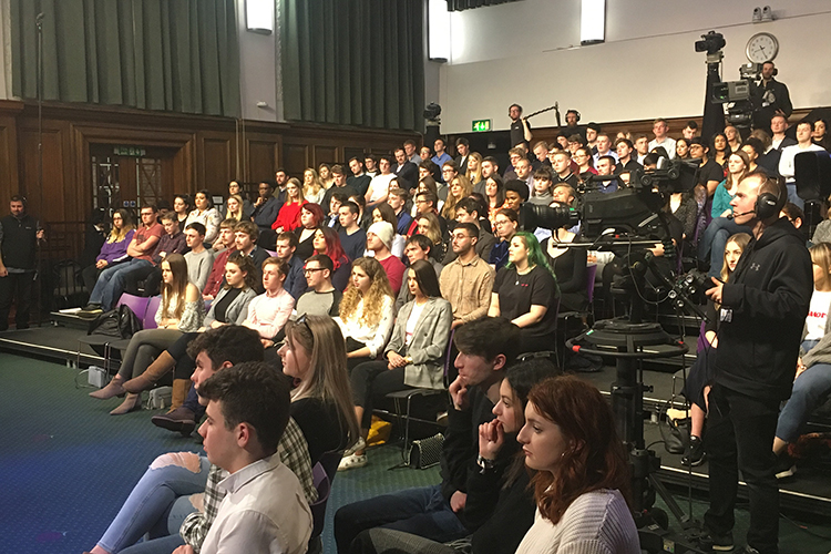 Leeds Beckett hosts lively Question Time