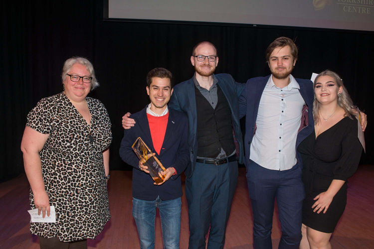 Northern Film School students win three prizes at RTS Yorkshire's Student Awards