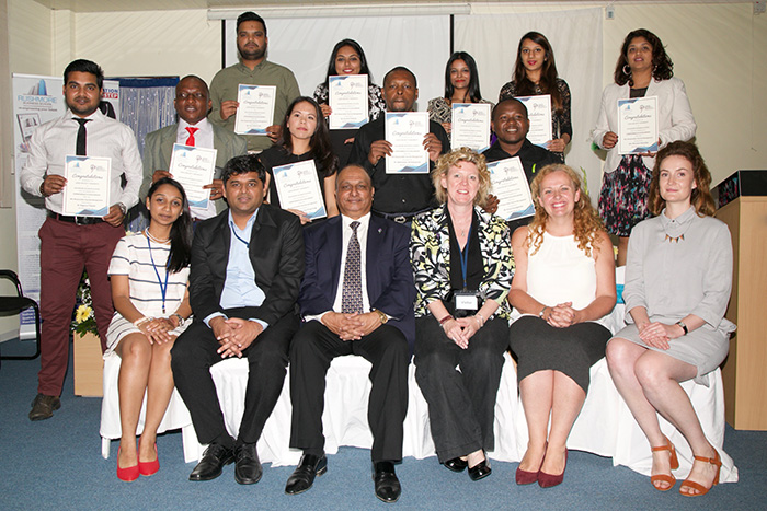 Leeds Beckett University and Mauritian business school welcome new students