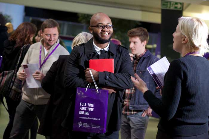 Leeds Beckett invites potential students to find out more about postgraduate courses