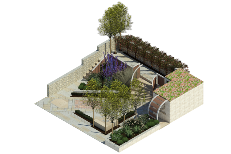Student-designed garden to feature at Chelsea Flower Show