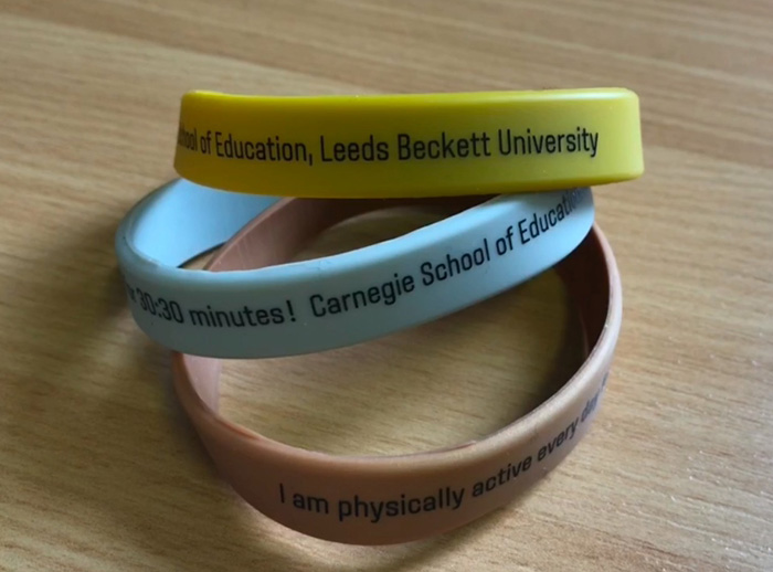 New wristband challenge to get Leeds primary school children active