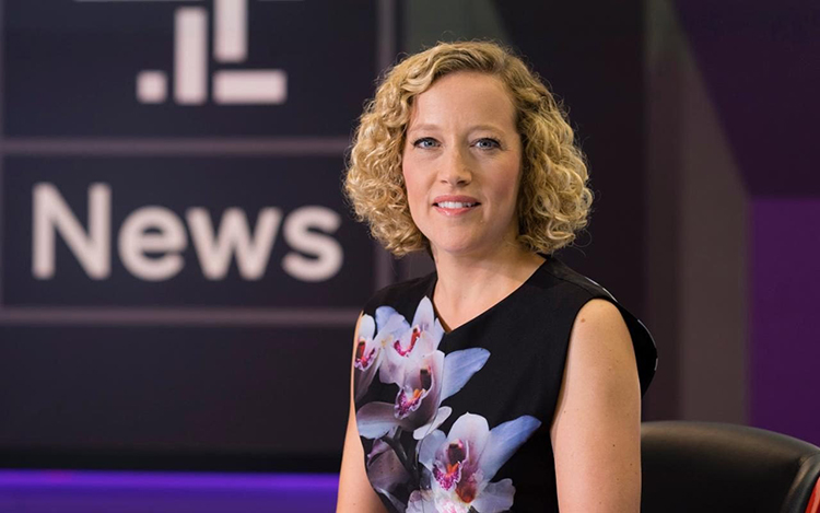 News presenter Cathy Newman launches guest lecture series
