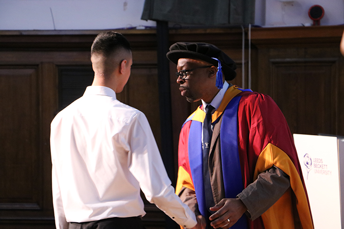 School pupils graduate from Progression Module at Leeds Beckett