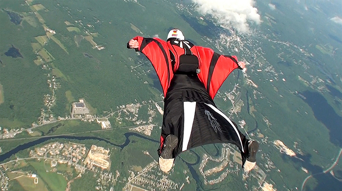 Leave your ego at the door – researchers uncover reality of wingsuit flying