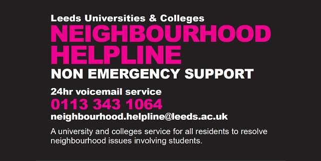 Neighbourhood Helpline